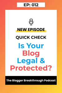 BBP 012: Quick Check – is your blog protected?