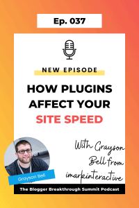 BBP 037 How Plugins Affect Your Site Speed