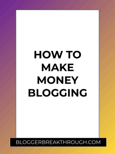 How to Make Money Blogging (The Definitive 2019 Guide)