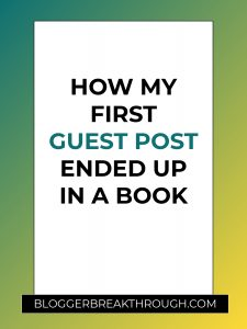 How My First Guest Post Ended Up in a Book