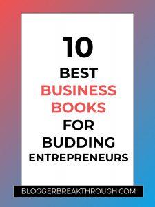 10 Best Business Books for Budding Entrepreneurs