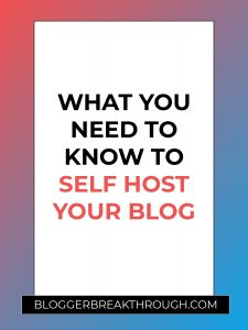 What You Need to Know to Self Host Your Blog