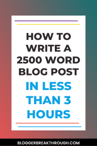 How to Write a 2500 Word Blog Post with Rytr in less than 3 hours (featuring RankIQ and Frase too)